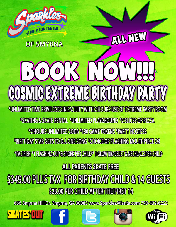 Cosmic Extreme Birthday Party