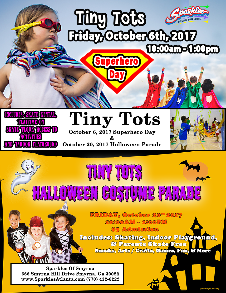 Oct. Tiny Tot's Sessions