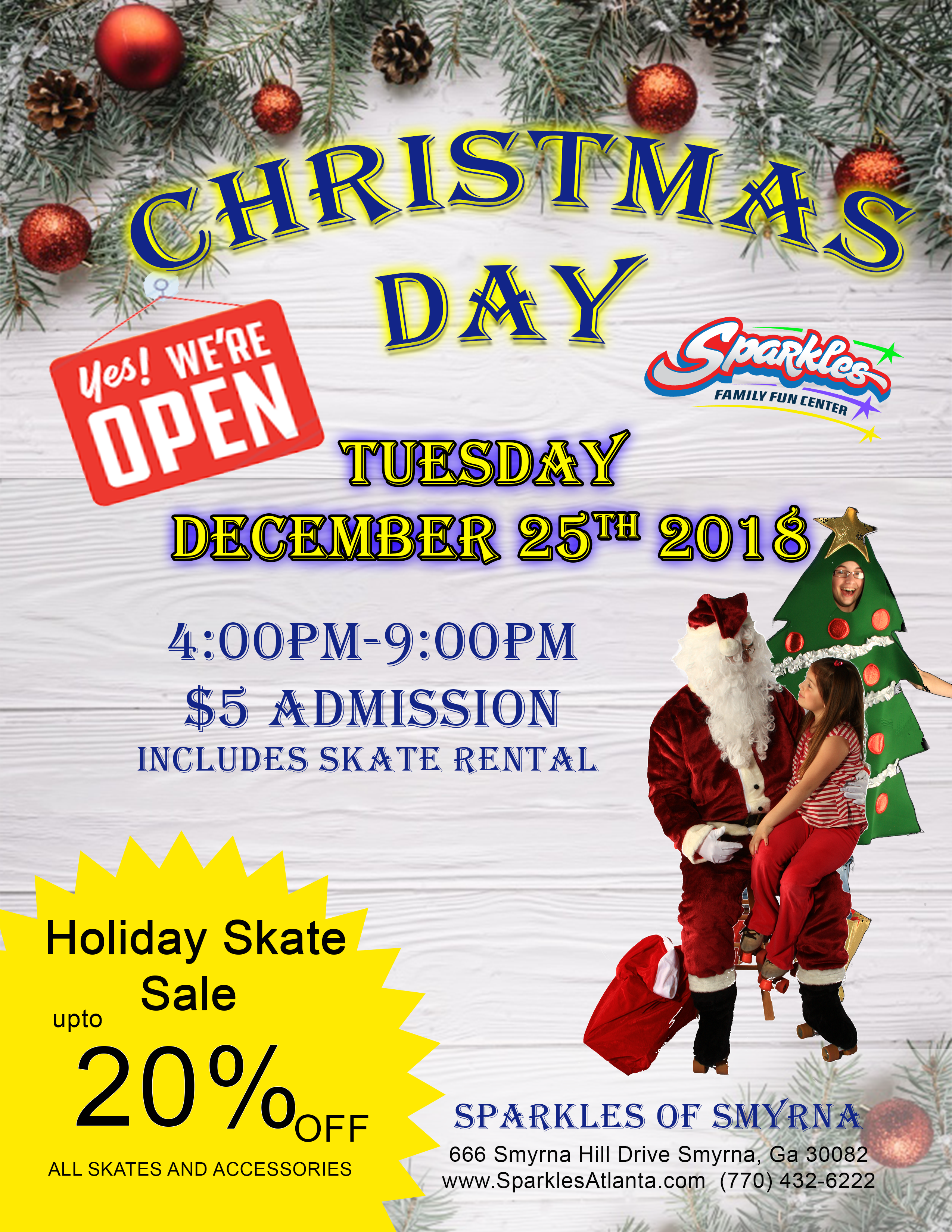 Open Christmas Day
