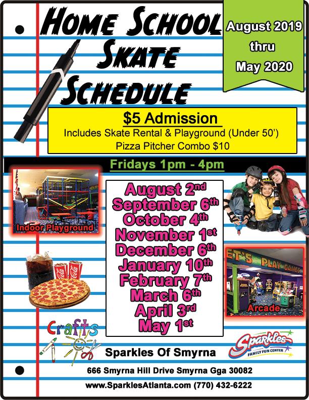 2019-2020 Homeschool Skate