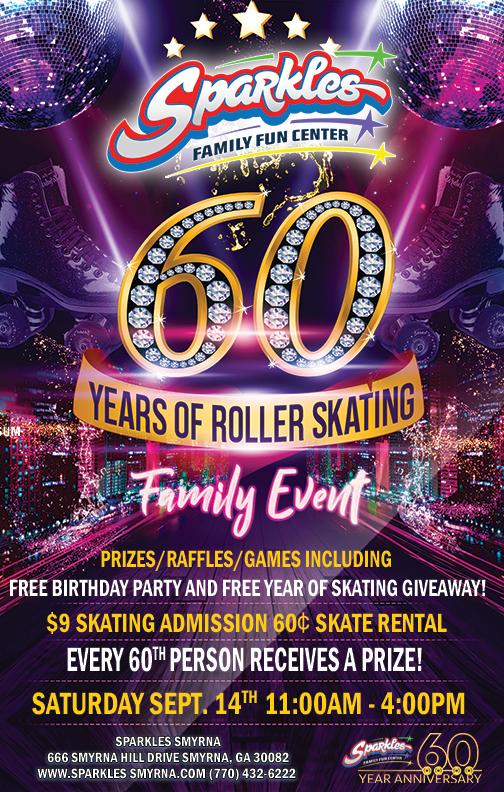60th Anniversary Skate Event