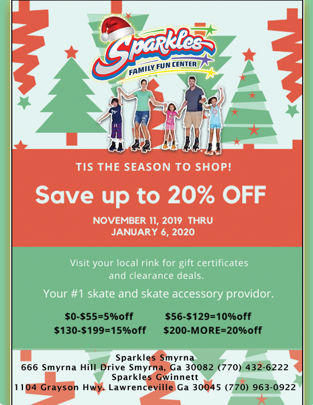 Sparkles Holiday Sale