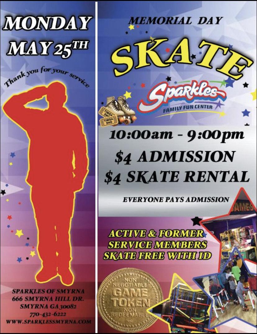 Memorial Day Skate