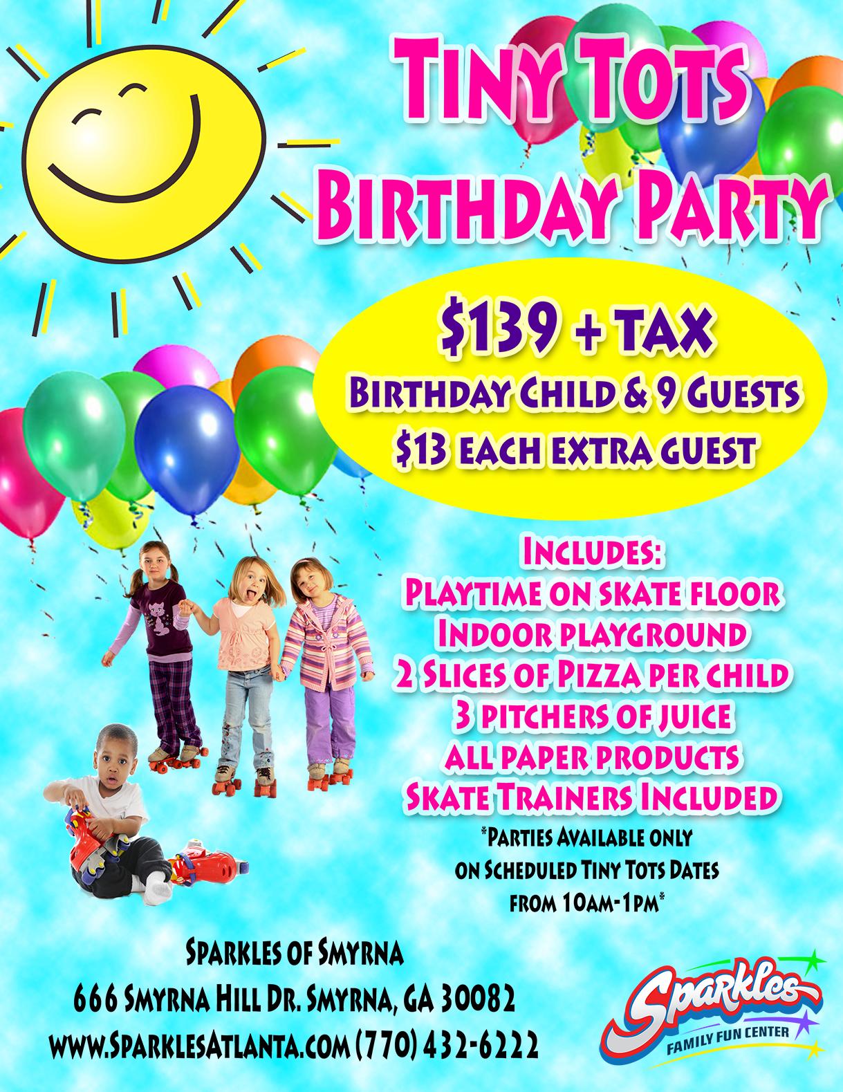 Tiny Tots Birthday