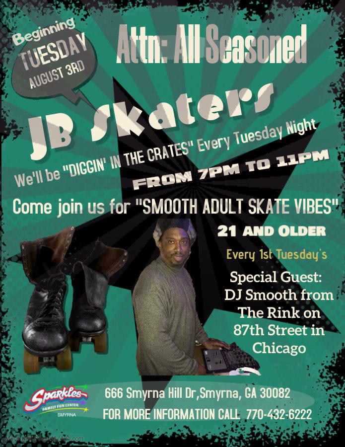JB Skate Adult Night